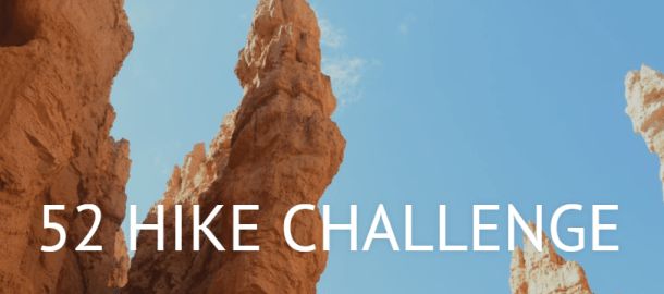 52 week hike challenge, hiking challenges