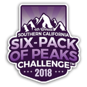 so cal six pack of peaks challenge, six pack of peaks challenge, hiking challenges
