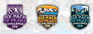 six pack of peaks, so cal six pack of peaks, nor cal six pack of peaks, hiking challenges
