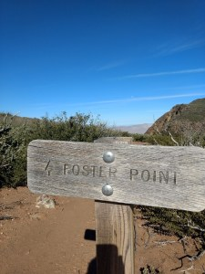 Monument Peak and Foster Point Loop Trail