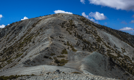 Hiking Mount Baldy (Mount San Antonio) via Manker Flat Trail