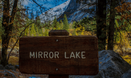 Hiking Mirror Lake Trail In Yosemite Valley