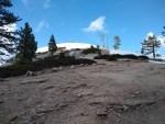 Sentinel Dome hiking trail guide.
