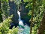 Toketee Falls Hiking Guide, Clearwater, Oregon, Umpqua National Forest, North Umpqua River