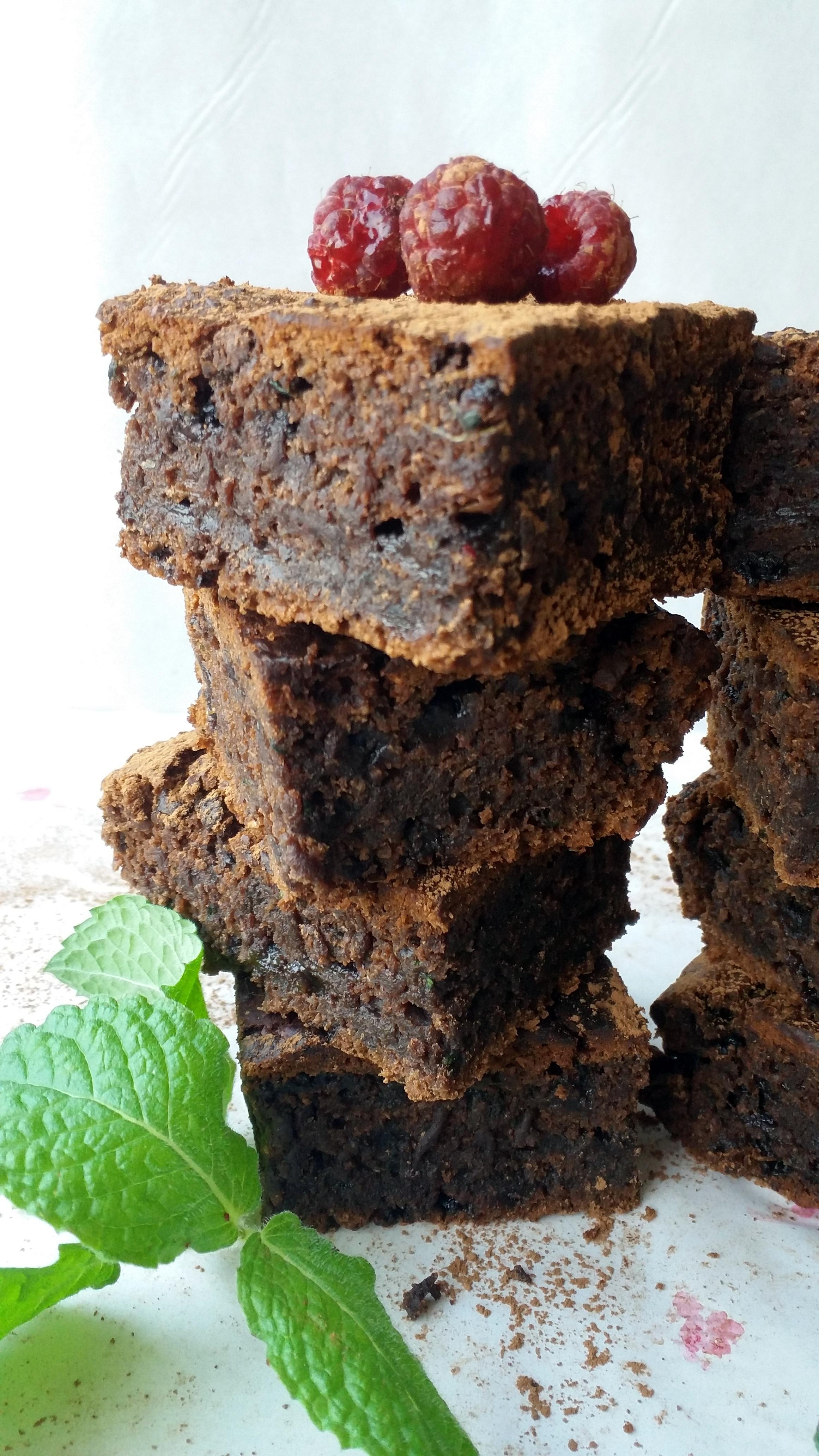 Brownies de Zucchini con Tagatosa 4