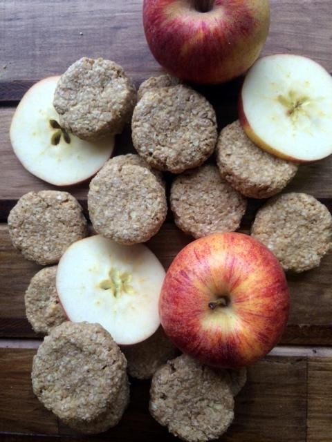 Galletas de Manzana, Avena, y Mantequilla de Maní 9
