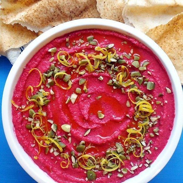 En la vida hay cosas buenas y mi Hummus Crocantehellip