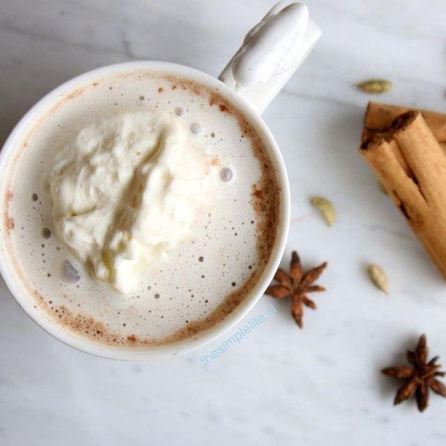 Chocolate caliente? Mucho mejor si es un CHOCOLATE CALIENTE CHAIhellip