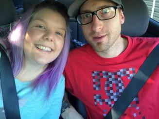 Roadtrip selfies