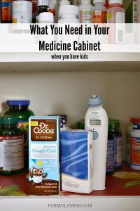 What To Have In Your Medicine Cabinet | online information
