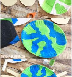 Make an Earth Day Craft Preschoolers Will Love Together to Celebrate • The  Simple Parent [ 1200 x 700 Pixel ]