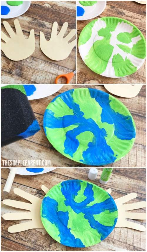 small resolution of Make an Earth Day Craft Preschoolers Will Love Together to Celebrate • The  Simple Parent
