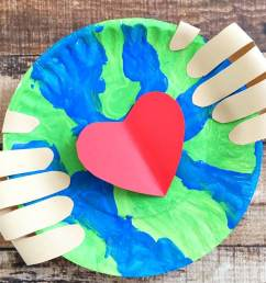Make an Earth Day Craft Preschoolers Will Love Together to Celebrate • The  Simple Parent [ 1130 x 700 Pixel ]