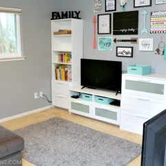 Ikea Small Living Room Color Schemes With Light Brown Leather Furniture 7 Modern Ideas For Functional Family Spaces Help From We Turned Our Second