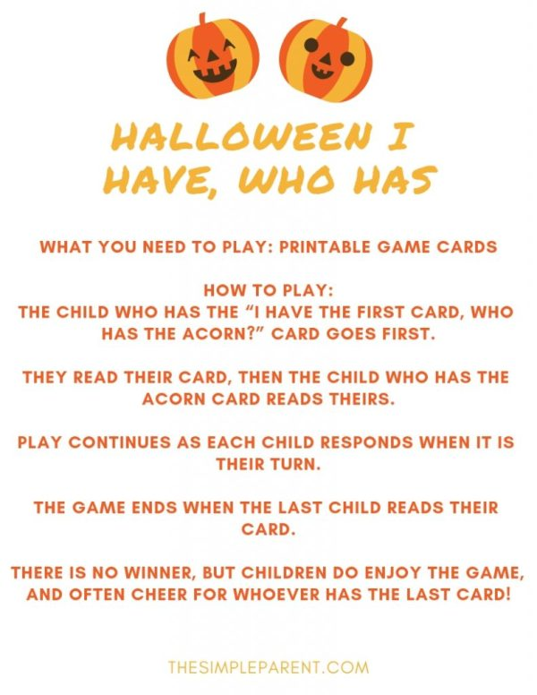free halloween party games printables # 56