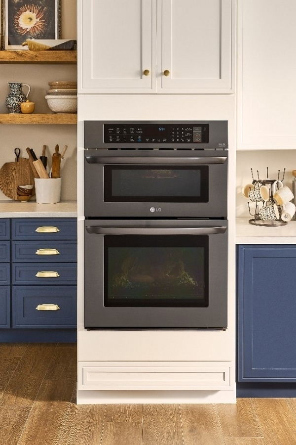 lg combination double wall oven is