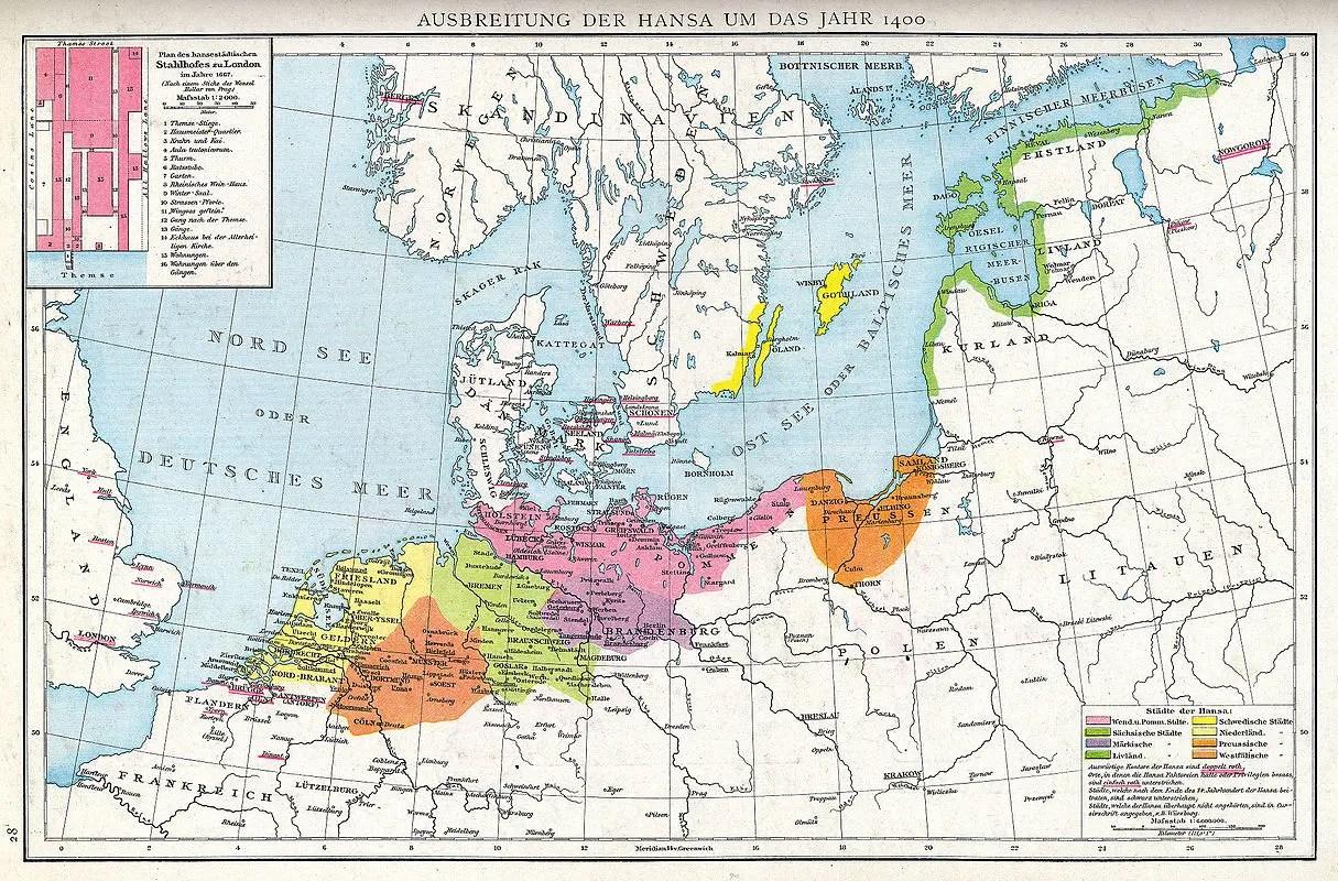 Recreating the Hanseatic League for spiritual purposes