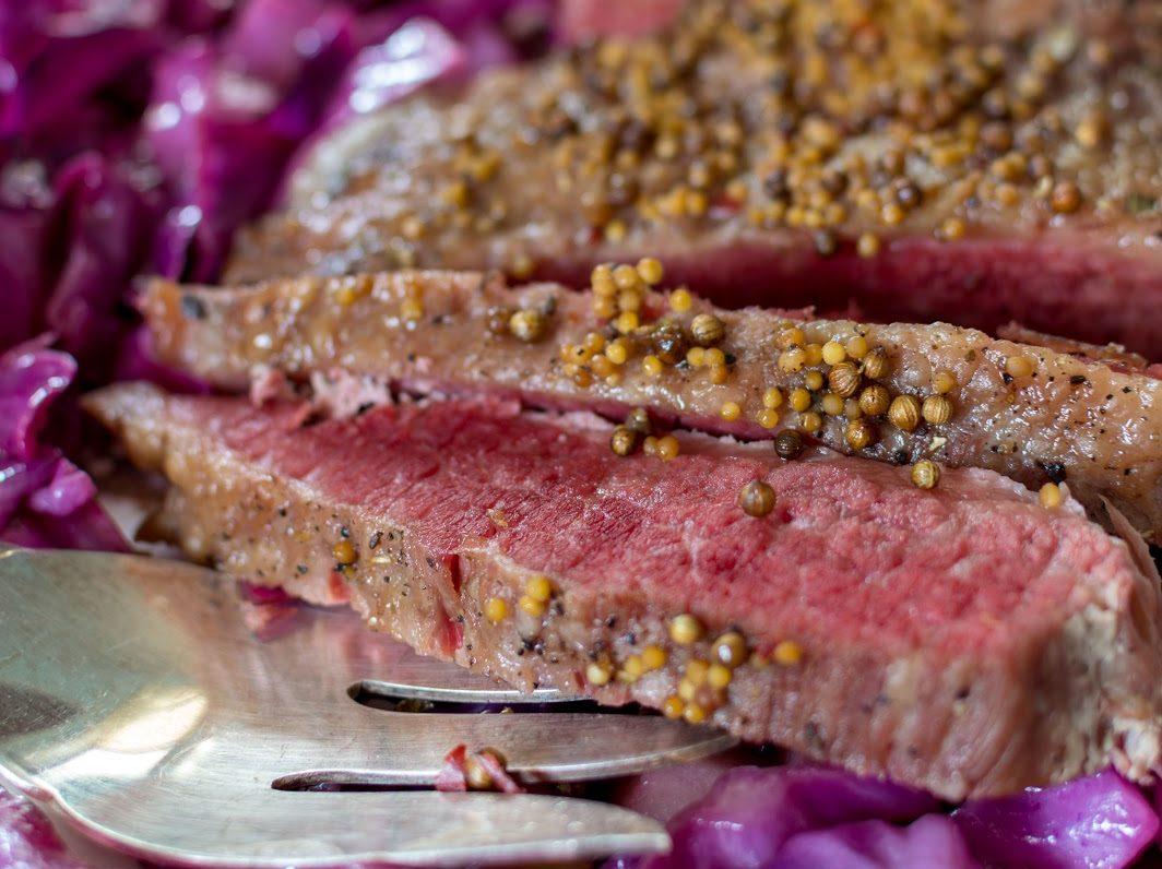 Fall Apart Crockpot Corned Beef