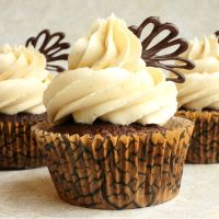 Chocolate Maple Cupcakes