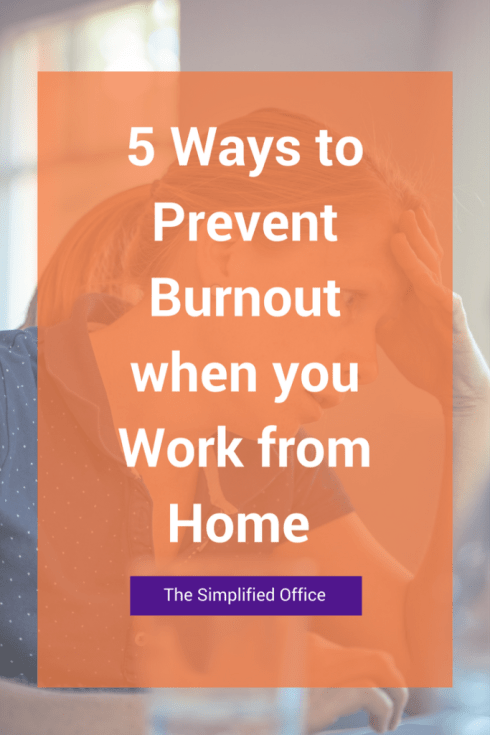 5 ways to prevent burn out