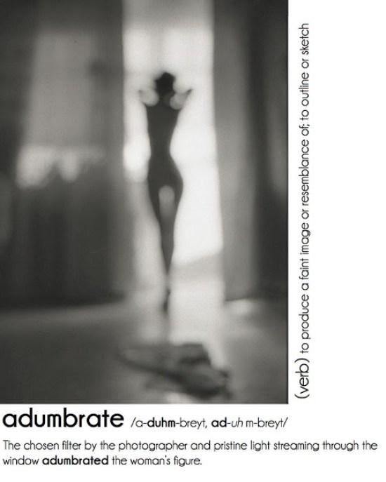adumbrate