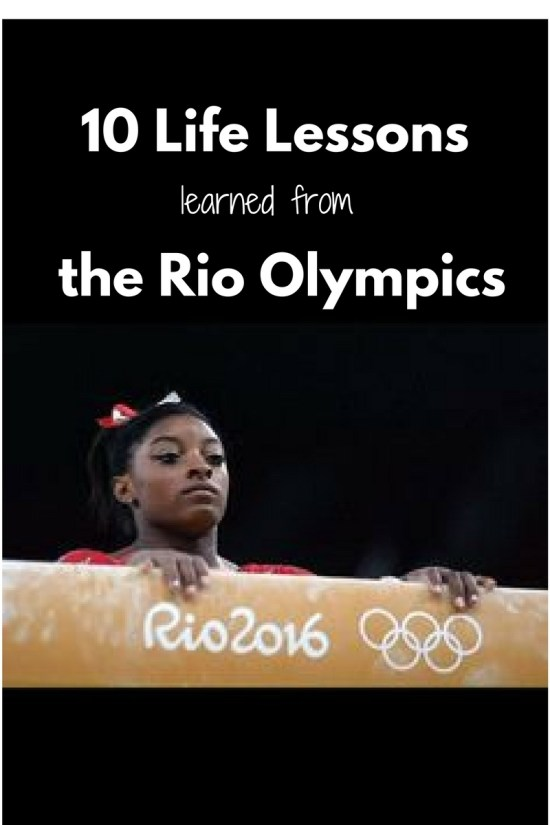 10 Life Lessonslearned from theRio Olympics