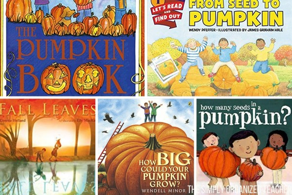 """Pumpkin Activities to use in your elementary classroom. Ideas for reading, writing, math, and science. Have """"fall fun"""" with your students by using some of these fun, fall, pumpkin activities."""
