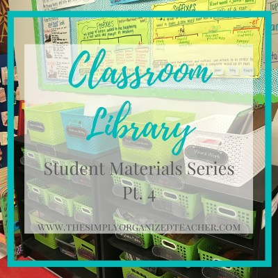 Classroom Library: Student Materials Series Pt. 4