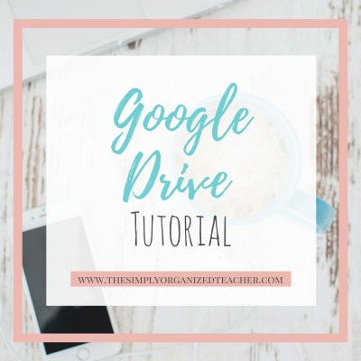 The Google Drive in the Classroom