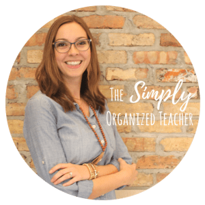 The Simply Organized Teacher Blog