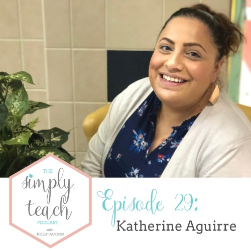 Simply Teach- a podcast for teachers, by teachers. In this episode we talk aboutall things related to working with ELL students. Regardless of where you teach, we are all teaching students whose native language is not English. The strategies Katherine shares will be really helpful to any teacher looking to improve their way of teaching and communicating with students.