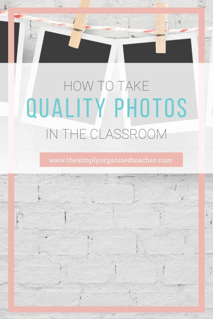 Take better pictures of your students and in the classroom with these ideas on classroom photos.
