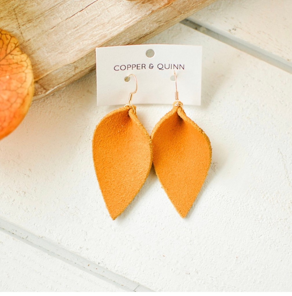 Copper and Quinn earrings make a great teacher gift for the teachers in your child's life.