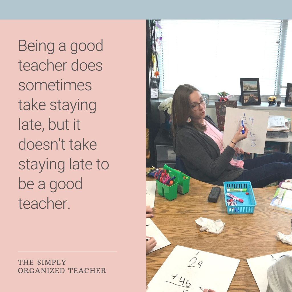 Classroom teachers can manage their time better with these mindset shifts that will help you to not get burnt out as a teacher but instead find more joy.
