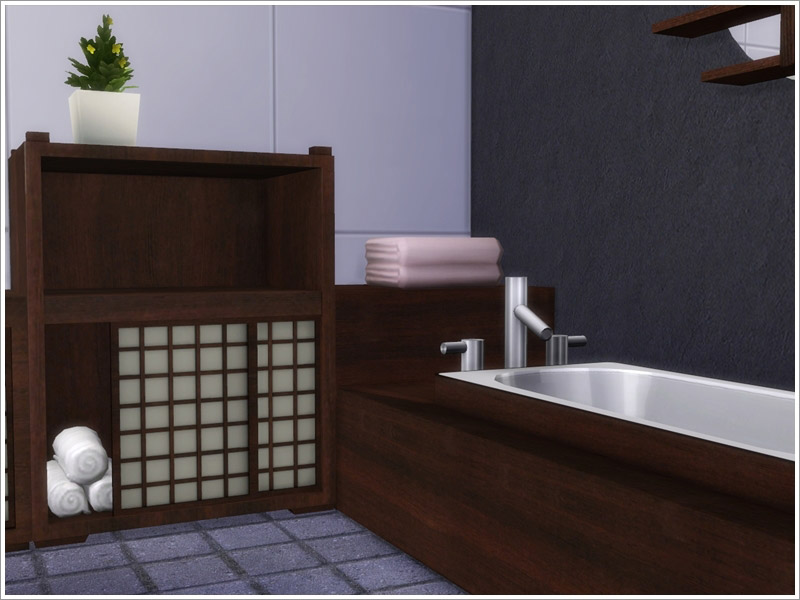 Asian Bathroom The Sims 4 Catalog