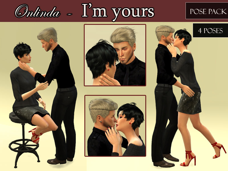 I'm yours - Pose Pack - The Sims 4 Catalog