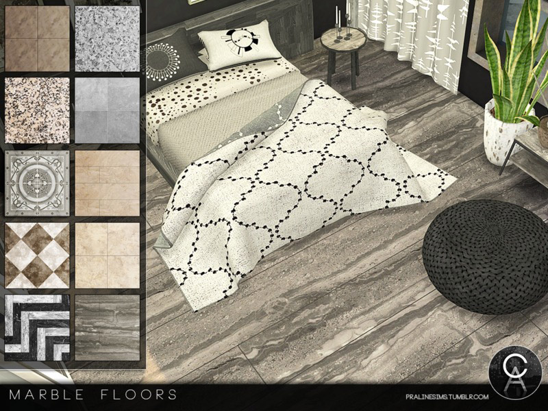 Marble Floors The Sims 4 Catalog