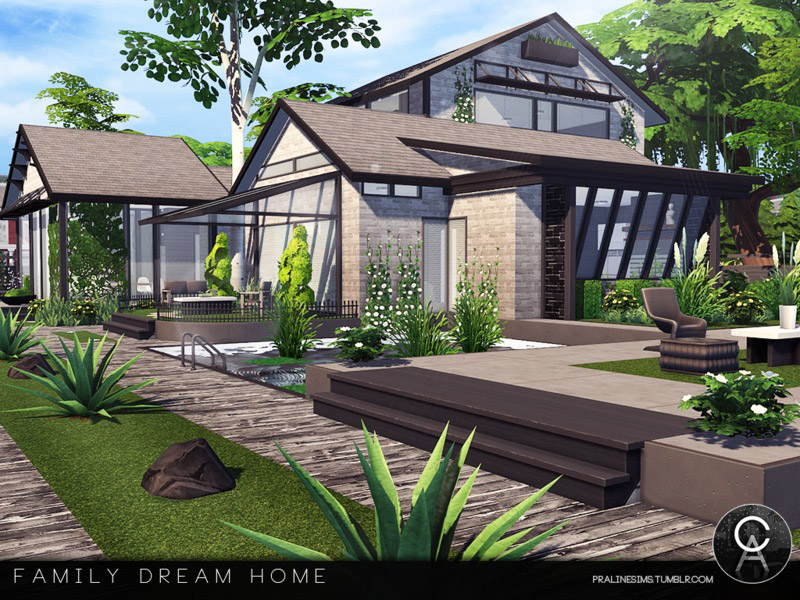 Family Dream Home The Sims 4 Catalog