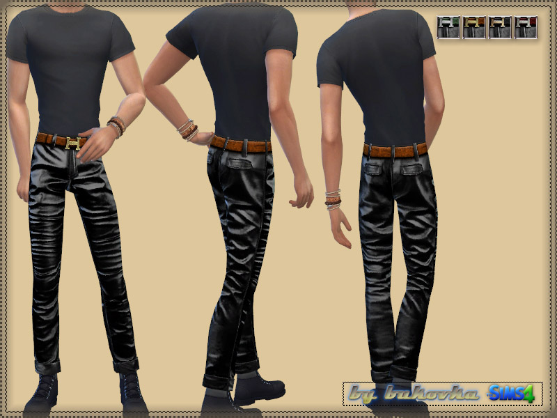 Leather Pants - The Sims 4 Catalog
