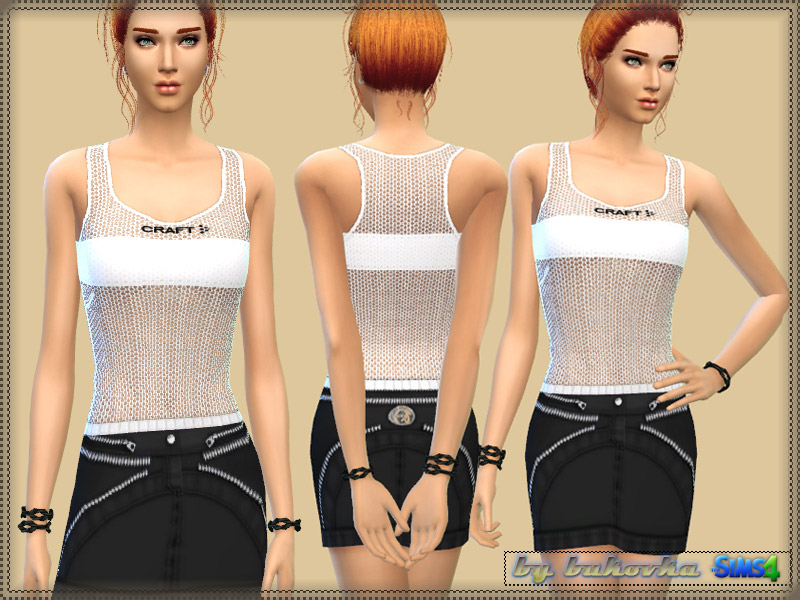Tank Netted Craft - The Sims 4 Catalog