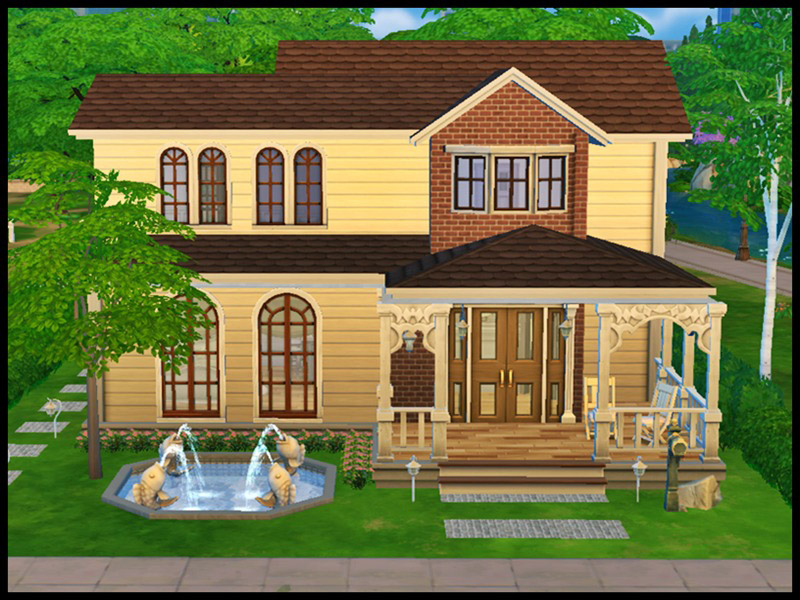 Victorian house the sims 4 catalog for Victorian home catalog