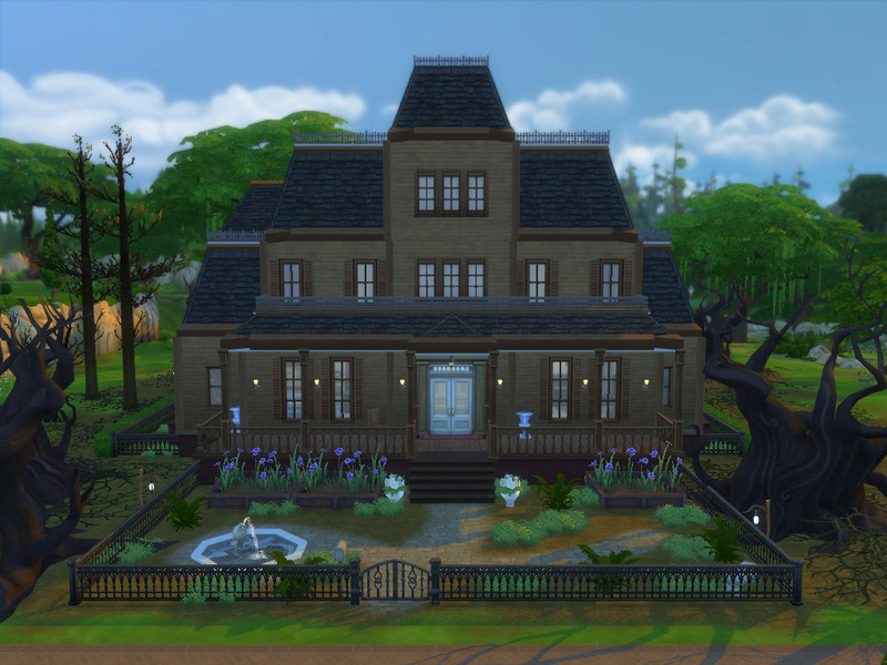 Gloomy Manor From Luigi S Mansion 2 The Sims 4 Catalog