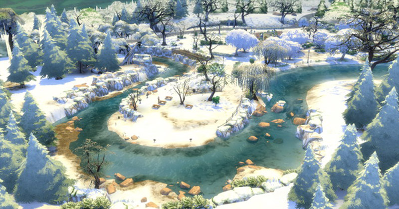 first snow mod the sims 4 catalog