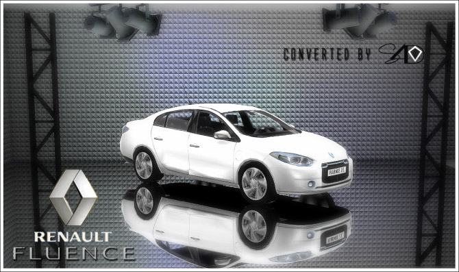 3t4 Renault Fluence - The Sims 4 Catalog