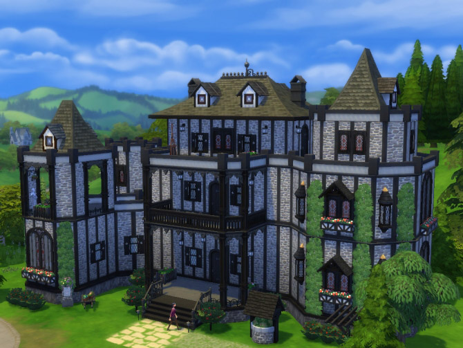 Vampire Castle No Cc The Sims 4 Catalog