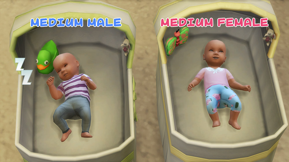 Comfortable Maxis Match Newborn Baby Clothes - The Sims 4 ...