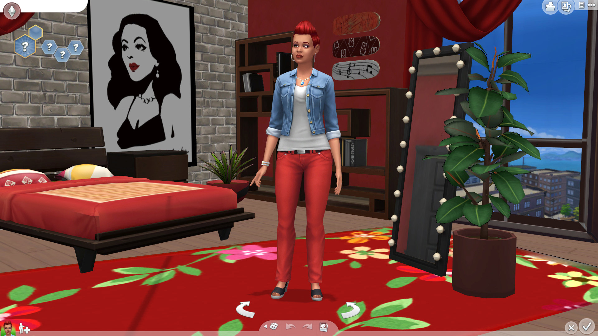 New Maxis Match CAS-Room - The Sims 4 Catalog