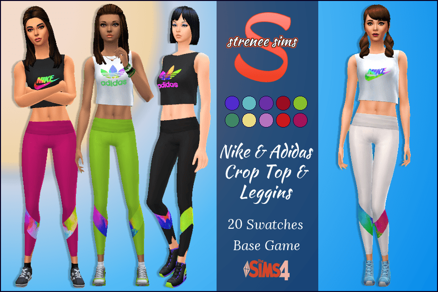 comparar el precio estilo distintivo aliexpress Sims 4 Cc Mod Skin Stil Shoes House - Downloads: Nike & Adidas ...