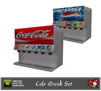 mensure's Cafe Break Set_Soda Machine