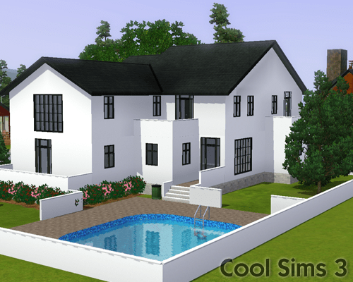 Cool Sims 3's Modern Deluxe House